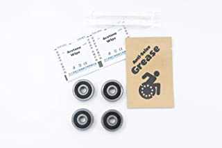 Front Caster Wheelchair Bearings 638 ABEC-3 8x28x9mm (4-Pack)