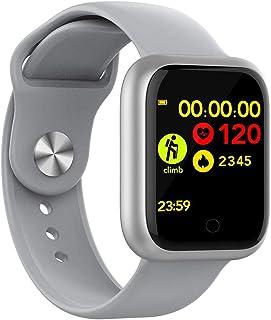TETHYSUN Reloj inteligente, reloj inteligente, reloj inteligente de pantalla táctil de 1.3 pulgadas, ultra largo en espera...