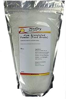 Medley Hills Farm Alum Granulated Powder (Food Grade) 3.5 lbs.