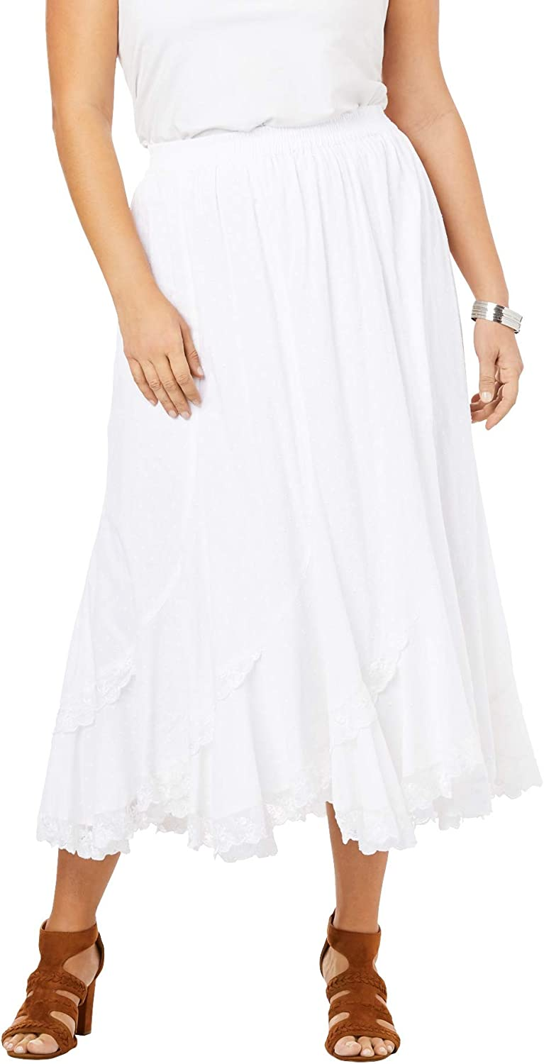 Roamans Women's Plus Skirt Ranking integrated 1st place Max 54% OFF French Size