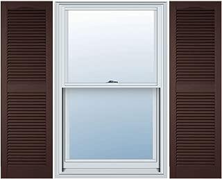 Best ekena millwork vinyl shutters Reviews