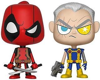 Funko pop Vynl Marvel Comics - Deadpool & Cable, Standard Multi-colored