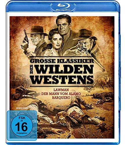 Große Klassiker des Wilden Westens - Lawman, Der Mann vom Alamo, Barquero (3 Blu-rays)