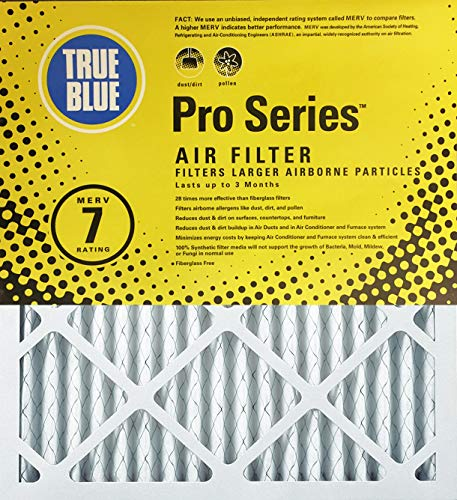 True Blue Pro Series 20-Inch by 20-Inch by 2-Inch Air Filter, 6 Pack