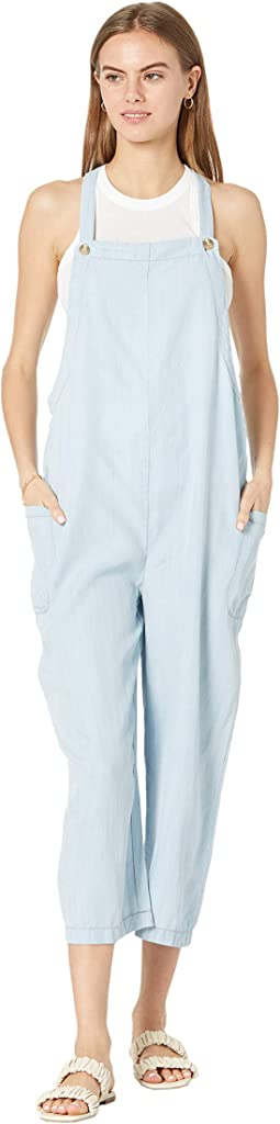 Soulful Tencel Overalls