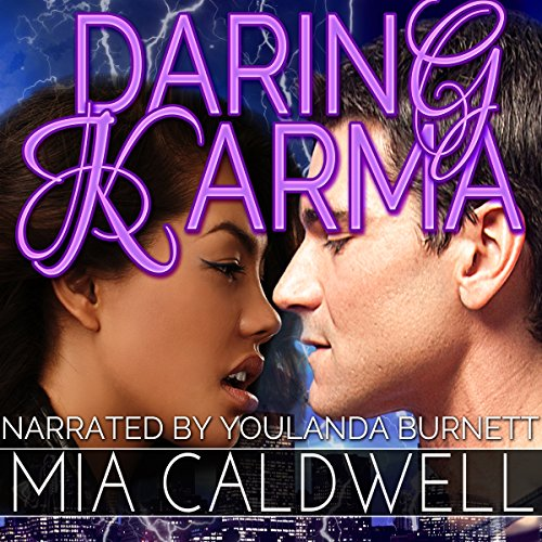 Daring Karma audiobook cover art