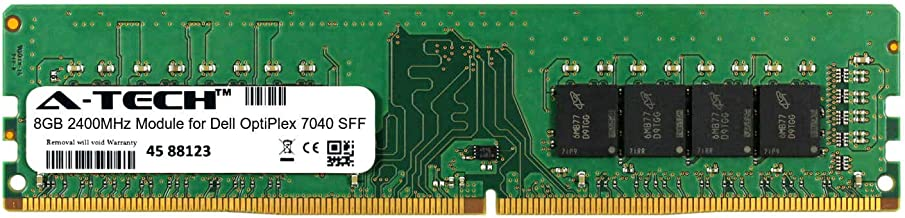 A-Tech 8GB Module for Dell OptiPlex 7040 SFF Desktop & Workstation Motherboard Compatible DDR4 2400Mhz Memory Ram (ATMS283829A25820X1)