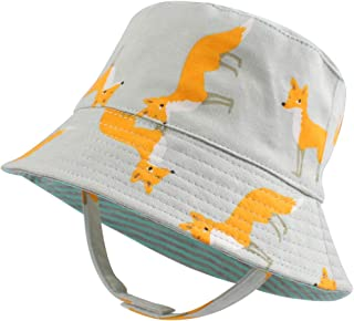 Duoyeree Baby Hats for Boy Girl Sun Protection Adorable Toddler Hat Beach Caps 0-24 Months