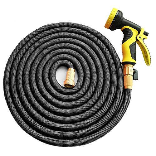 Garden Hose, Homeme 50 Feet Newest Expandable Strongest Magic Hose Pipe...