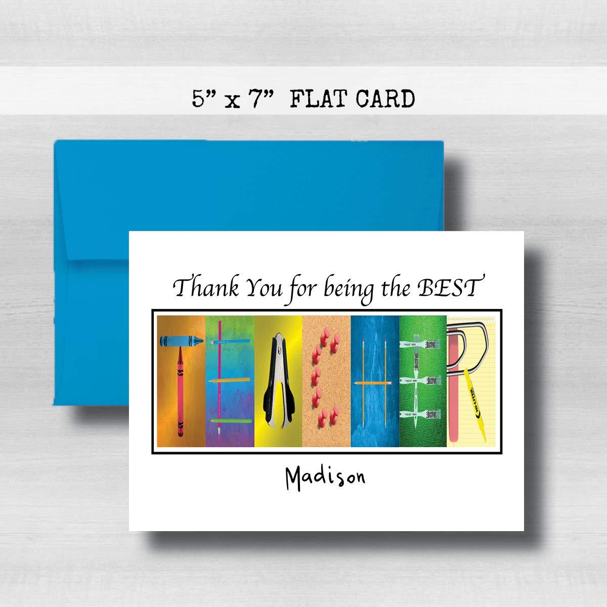 Cheap Teacher Appreciation Card 5