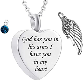 Best cremation jewelry charms Reviews