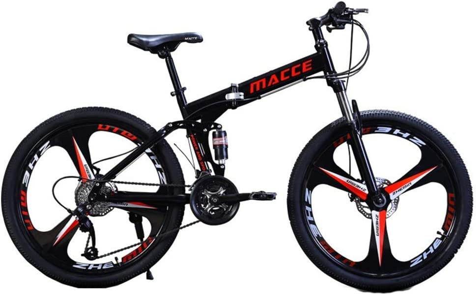 24In Foldable Bicycle Mountain Bike - Speed 21 Carbon Popular standard High 5 popular Steel