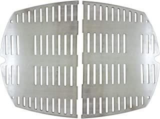 Cookingstar Replacement Part Kit for Weber Series Grills, Stainless Steel Casting Cooking Grates (Weber Q300 and Q3000 Series Grills)