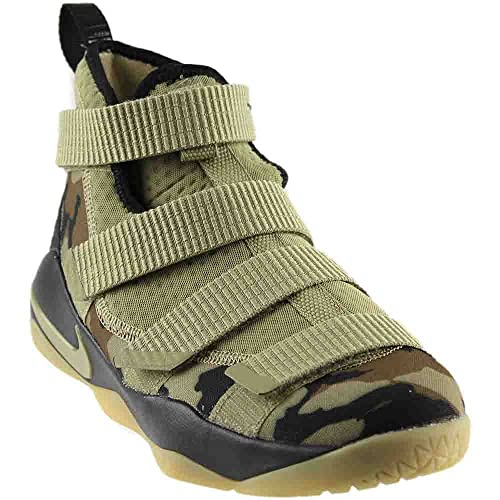Nike Kids Grade School Lebron Soldier XI Basketball Shoes