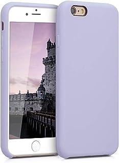 kwmobile Hülle kompatibel mit Apple iPhone 6 / 6S   Handyhülle gummiert   Handy Case in Pastell Lavendel