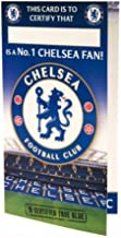 Chelsea FC Official Football Gift Birthday Card No 1 Fan - A Great Birthday Gift Idea For Men And Boys by Official Chelsea FC Gifts