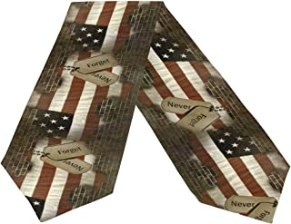 Wamika Military Dog Tags On American Flag Long Table Runner 13x70 inch, Patriotic Usa Star And Stripe Rectangle Table Runner Polyester Fabric Cloth Placemat for Office Kitchen Dining Wedding Party Ho