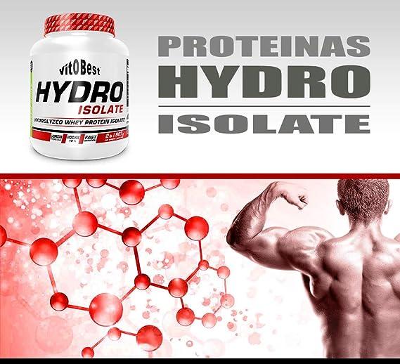 Proteina Hidrolizada Hydro Isolate 2lb (907 gr) - Suplementos Deportivos - Vitobest (Cereza)