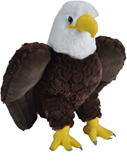 Wild Republic Bald Eagle Plush, Stuffed Animal, Plush Toy, Gifts for Kids, Cuddlekins 12 Inches