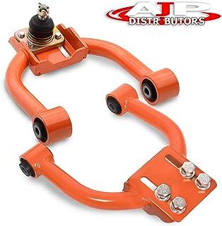 Ajp Distributors Jdm Tubular Adjustable Front Upper Camber Kit Orange For Honda Civic Ek