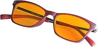 4a7b9eaef6d Blue Blocking Reading Glasses-Orange Lens Readers-Women-Lightweight Frame