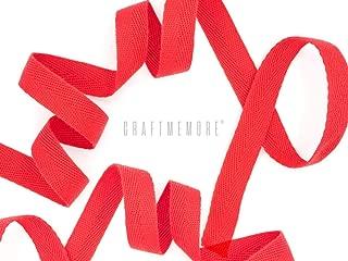 Wrights 117-794-025 Single Fold Satin Blanket Binding 4.75-Yard Neon Red