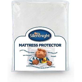 Nouveau Silentnight King Anti Allergie Matelas Protecteur Doux en Microfibre