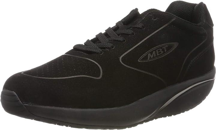 scarpe basculanti uomo mbt mbt-1997 nubuck scarpe da ginnastica basse uomo 702630