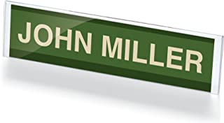 Officemate Name Plate Holder, 8.5 Inches Wide x 2 Inches High, 1 Holder (23001)