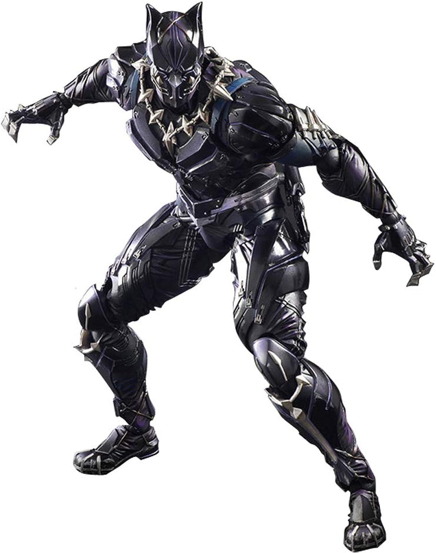 envío rápido en todo el mundo FH WJ-Juguete Avengers Avengers Avengers Movie Version Panther Model Juguete Estatua Decorativa Personalizada  servicio de primera clase