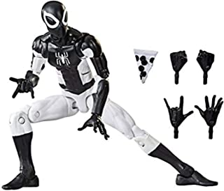 """Hasbro Marvel Legends 6"""" Retro Collection Spider-Man [Black and White Suite] Exclusive"""
