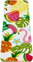 Yogamat - tropisch patroon flamingo - Extra dikke antislip oefening & fitnessmat voor alle soorten yoga, pilates & vloertr...