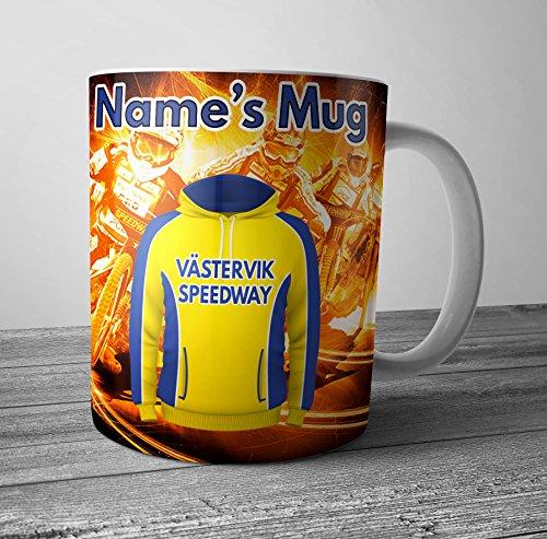 Speedway – Vastervik Speedway mugg – personlig present – lägg till valfritt namn
