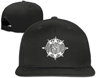 Gang Starr Logo Boy Girl Adjustable Flat Snapback Baseball Cap Black