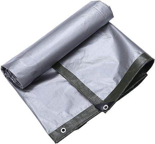 Yunyisujiao Bache Multicouche argentée Verte de différentes Tailles et épaisseurs, Toile Anti-Pluie pour écran Solaire, 180 g m2 (Couleur   4×4M)