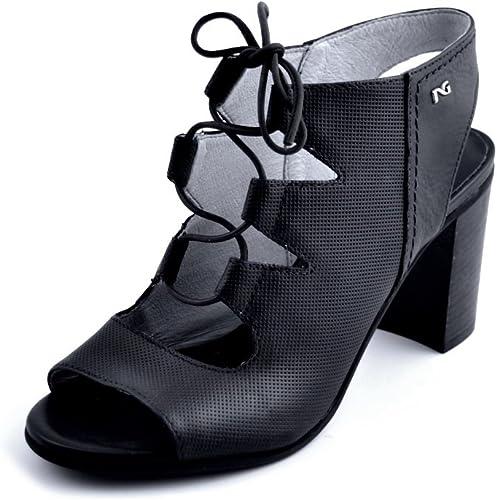 noir Giardini Sandales pour Femme