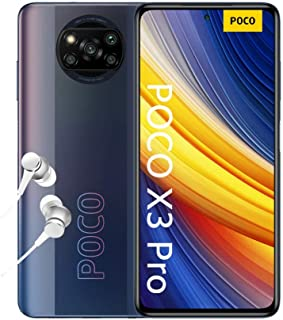 "POCO X3 Pro, Smartphone 8+256 GB, 6,67"" 120 Hz FHD+ DotDisplay, Snapdragon 860, cámara cuádruple de 48 MP, 5160 mAh, Negro..."