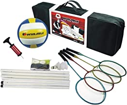 Winmax Unisex Adult Family Badminton Set - Multi Color, 20 x 24.5 cm