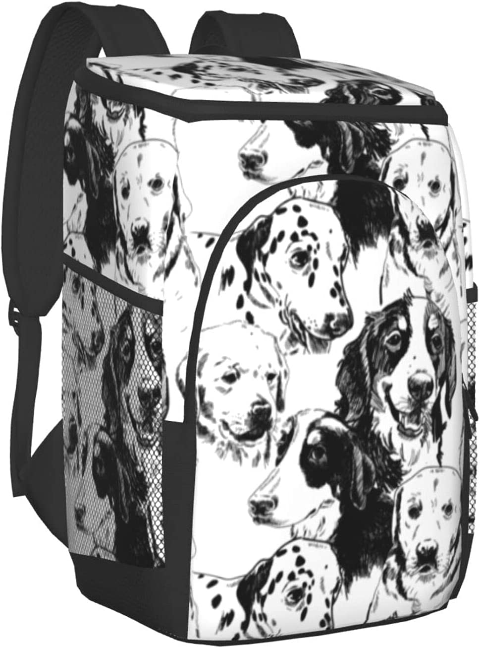 Cute Cat Faces Insulated Genuine Free Shipping Indefinitely Cooler Leakproof Backpack B Soft