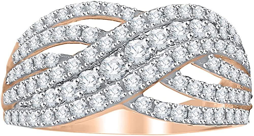KATARINA Diamond Fashion Ring mart in 14K Sales of SALE items from new works Gold J-K cttw 1 SI2-I1