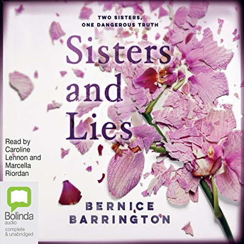 Sisters and Lies audiobook cover art
