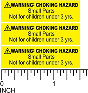 Best warning choking hazard label Reviews