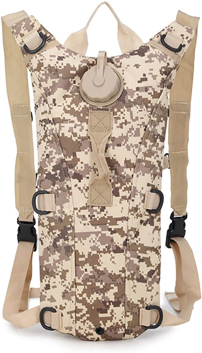 3L Water Bag Molle Military Tactical Hydration Backpack Outdoor Camping Cycling Camelback Nylon Camel Water Bladder Bag