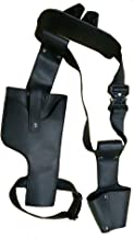 Domino Belt Deluxe Cable Black PU Holster Buckle Adult Prop Cosplay Costume Accessory