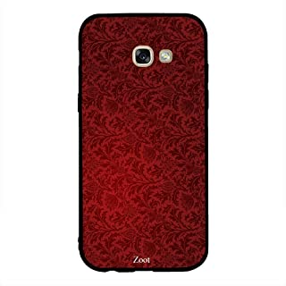 Samsung Galaxy A5 2017 Red Floral Pattern, Zoot Designer Phone Covers