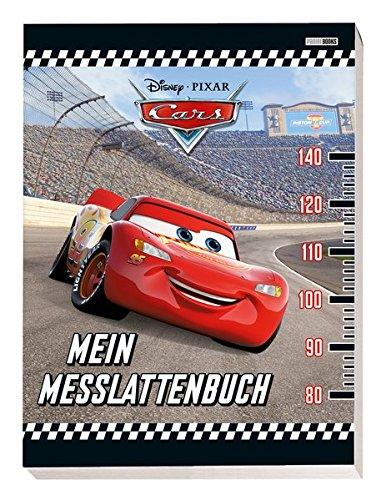 Disney Cars: Mein Messlattenbuch: mit Ausmalbildern und Stickern