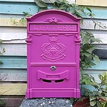 Mail Box Mailboxen Wall Mount Drop Box Heavy Duty Beveiligde Opslag met Slot voor Commercieel Thuiskantoor of Zakelijk Geb...
