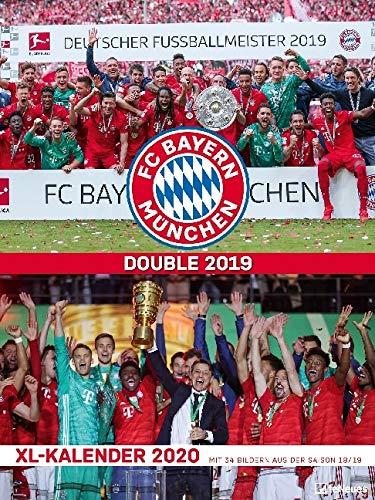FC Bayern München 2021 - Poster-Kalender-XL - Fan-Kalender - Fußball-Kalender - 48x64 - Sport: teNeues Posterkalender FC Bayern Mnchen