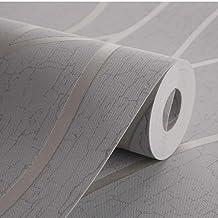 Elegant Decorative Wallpaper Grey 0.5x10meter