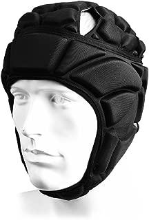 ElementDigital 足球头盔足球头部保护头盔 头盔 运动 可调式足球守门员头盔 头盔 头盔 支撑足球保护装置